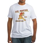 Air Guitar Champion (vintage) Fitted T-Shirt