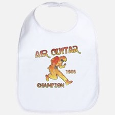 Air Guitar Champion (vintage) Bib