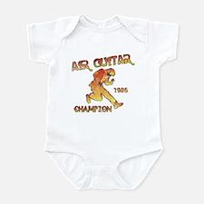 Air Guitar Champion (vintage) Infant Bodysuit