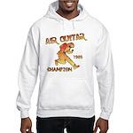 Air Guitar Champion (vintage) Hooded Sweatshirt