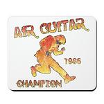 Air Guitar Champion (vintage) Mousepad