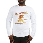 Air Guitar Champion (vintage) Long Sleeve T-Shirt
