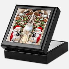 Ragdoll Cats for Christmas Keepsake Box
