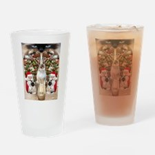 Ragdoll Cats for Christmas Drinking Glass