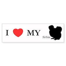 Silkie Bumper Bumper Sticker