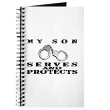 Serves & Protects Cuffs - Son Journal