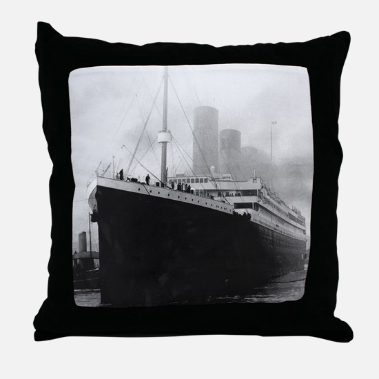 Cute Rms titanic Throw Pillow