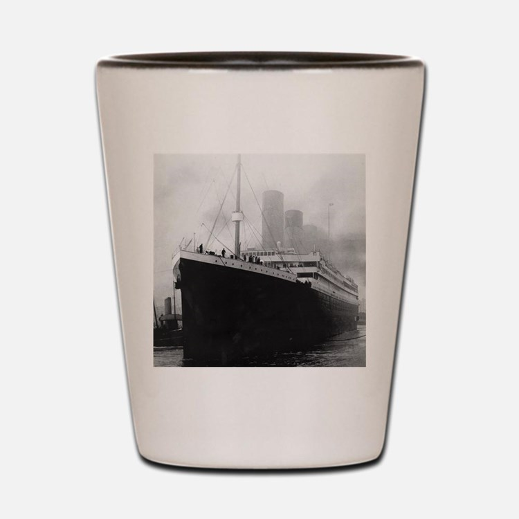 Cute Titanic ship Shot Glass