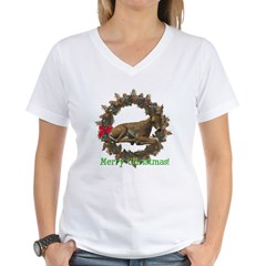 Fawn Women's V-Neck T-Shirt
