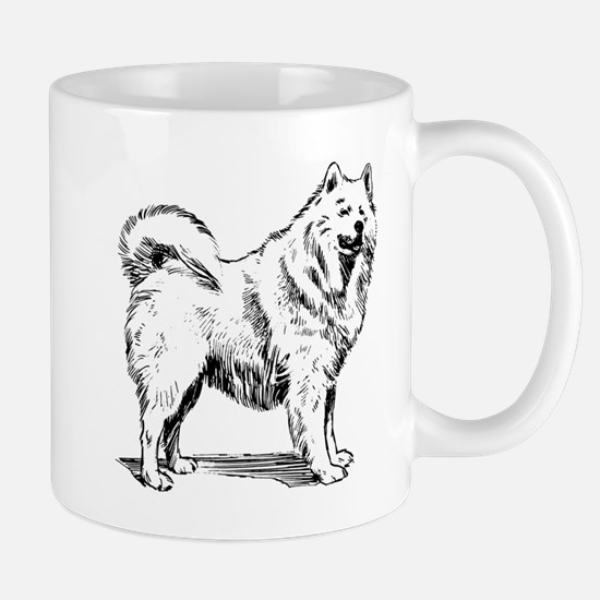 Samoyed dog Mugs