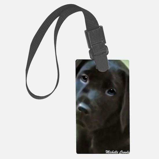 Cute Lab dog Luggage Tag