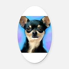 Pets Oval Car Magnet