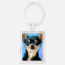 Cute Pets Portrait Keychain