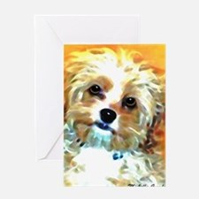 Cool Pet mom Greeting Card