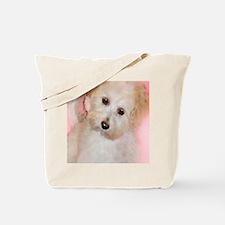 Cute Maltipoo art Tote Bag