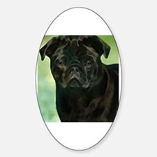 Cute Pug father%27s day Decal