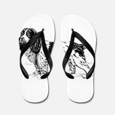 Spaniel dog Flip Flops