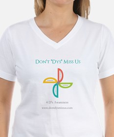 "Don't ""Dys"" Miss Us T-Shirt"