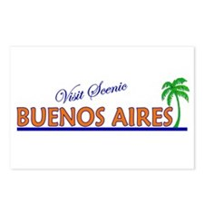 Visit Scenic Buenos Aires, Ar Postcards (Package o