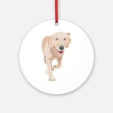 Anatolian shepherd dog Round Ornament