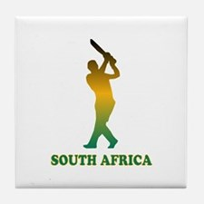 Cute African cup Tile Coaster