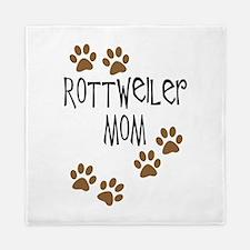 Rottweiler Mom Queen Duvet