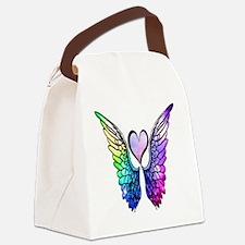 Cute Angel Canvas Lunch Bag