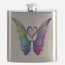 Funny Rainbows Flask