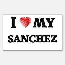 I love my Sanchez Decal