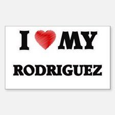 I love my Rodriguez Decal
