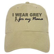 I Wear Grey For My Nana 2 (BC) Baseball Cap