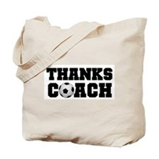 Soccer Thanks Coach Tote Bag