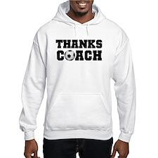 Soccer Thanks Coach Hoodie