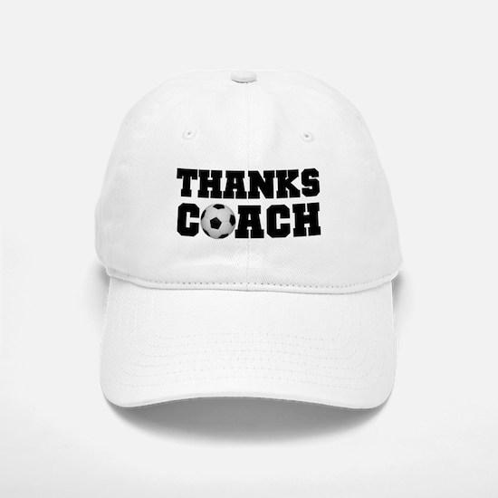 Soccer Thanks Coach Baseball Baseball Cap