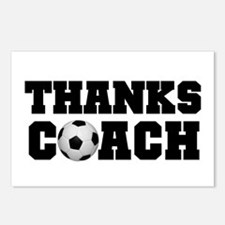 Soccer Thanks Coach Postcards (Package of 8)