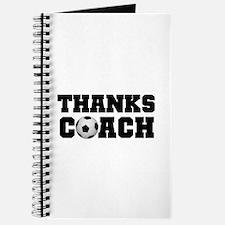 Soccer Thanks Coach Journal