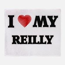 I love my Reilly Throw Blanket
