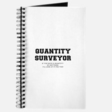 QUANTITY SURVEYOR - ILL LOOK AT IT FOR YOU Journal