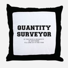 QUANTITY SURVEYOR - ILL LOOK AT IT FO Throw Pillow