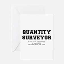 QUANTITY SURVEYOR - ILL LOOK AT IT Greeting Cards