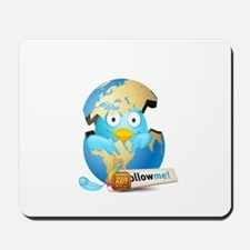 Twitter world Mousepad