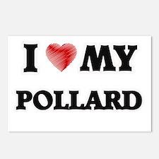 I love my Pollard Postcards (Package of 8)