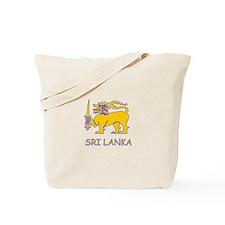 Cute Sri lanka Tote Bag