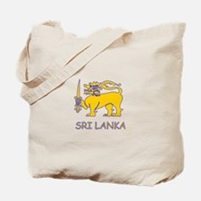 Cute Sri lanka Tote Bag