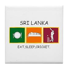 Cute Sri lanka Tile Coaster