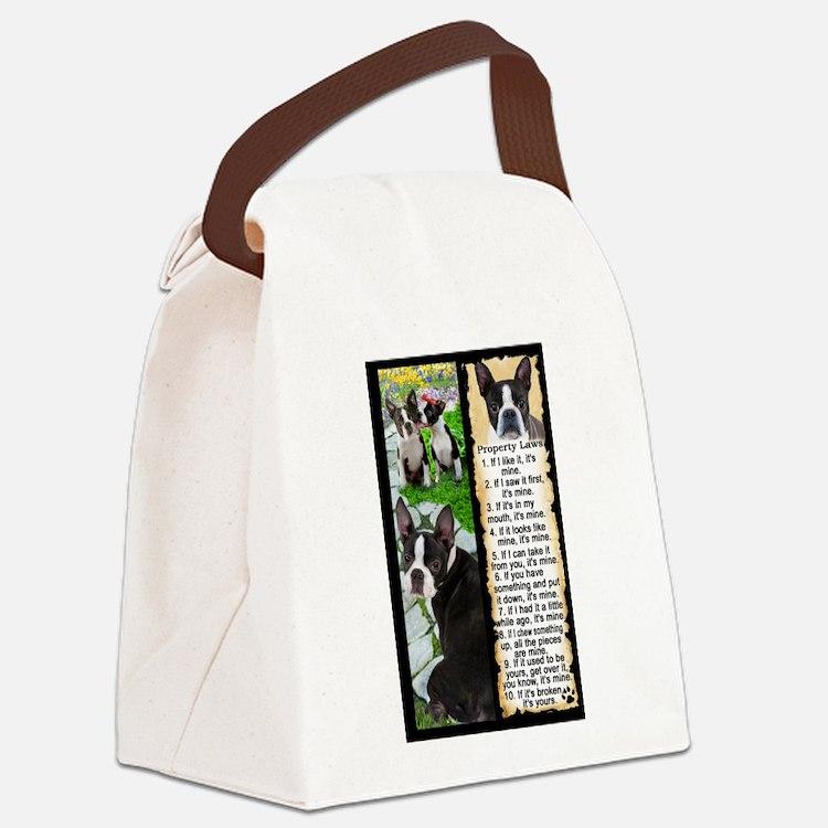 Cute Artisan Canvas Lunch Bag