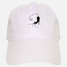 Funny black cat design Baseball Baseball Cap