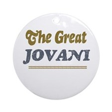 Jovani Ornament (Round)