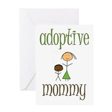 Adoptive Mommy Greeting Card