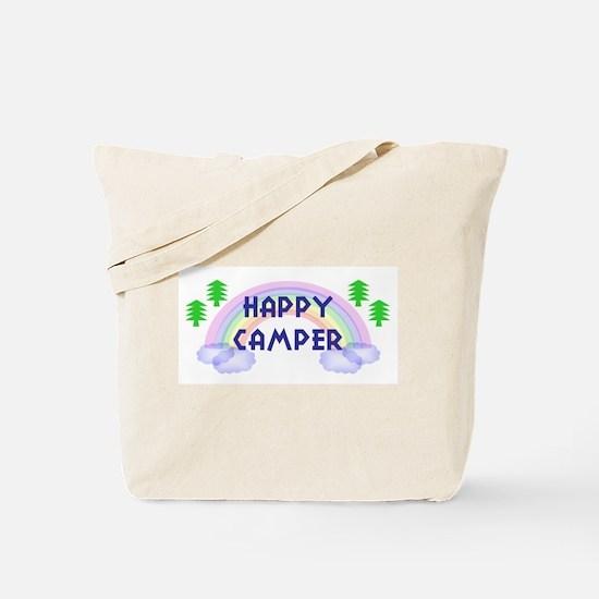 """Happy Camper"" Tote Bag"